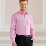 Pink work shirts,custom workwear