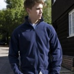 dark blue work fleece,corporate hoodies in London