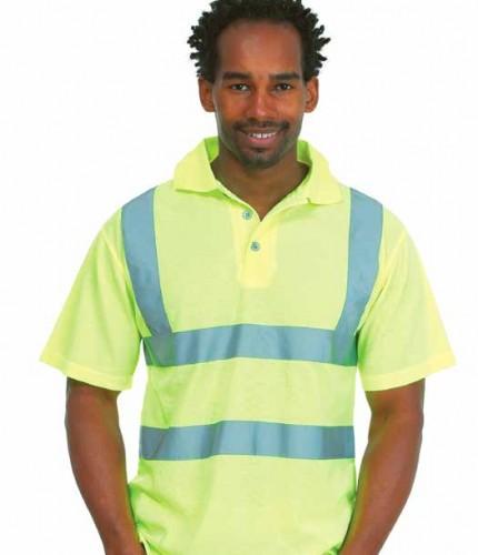 hi vis polo,custom workwear