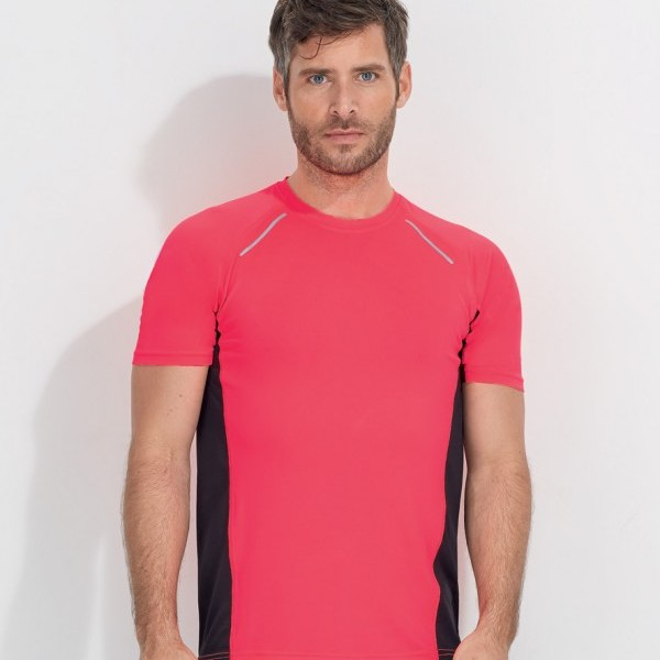 Sols Sydney Running T Shirt Embroidered Printed Clothing