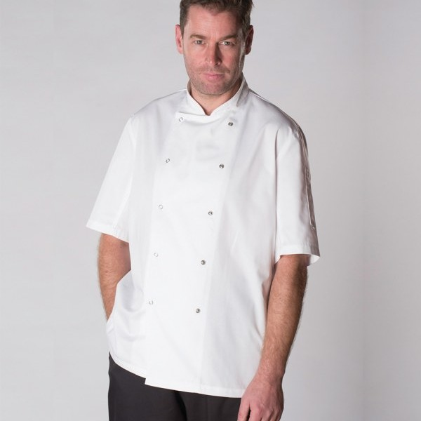 AFD Short Sleeve Thermo°Cool™ Chef's Jacket,Positive Branding