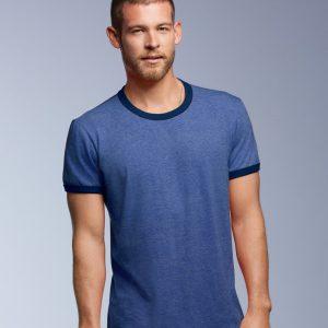 Anvil Lightweight Ringer T-Shirt,Positive Branding