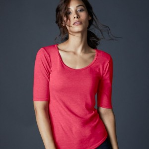 Anvil Ladies Tri-Blend 1/2 Sleeve T-Shirt,Positive Branding