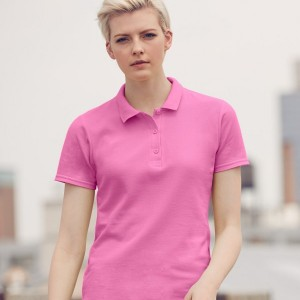 Anvil Ladies Cotton Double Pique Polo Shirt,branded clothing in London