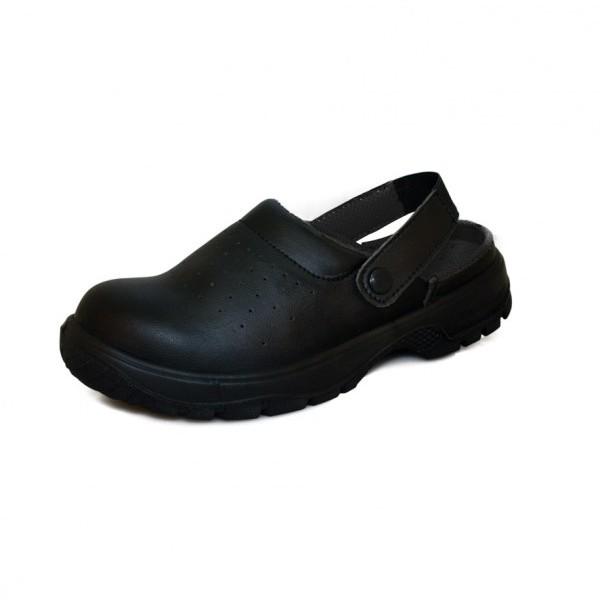 Comfort Grip Sandal with Heel Strap