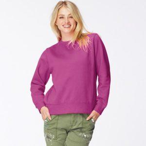 Comfort Colors Ladies Drop Shoulder Sweatshirt,Positive Branding