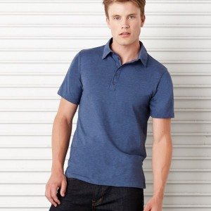 Canvas Poly/Cotton Jersey 5 Button Polo Shirt, personalised polo shirt