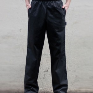 Dennys Elasticated Chef's Trousers,branded staff uniforms in London