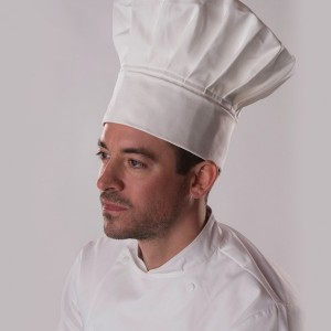Dennys Tall Chef's Hat,branded staff uniforms in London
