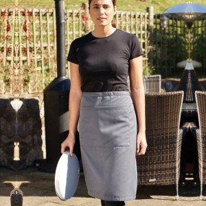 Dennys Polyester Waist Apron with Pocket,custom workwear