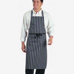 Dennys Stripe Bib Apron,Positive Branding