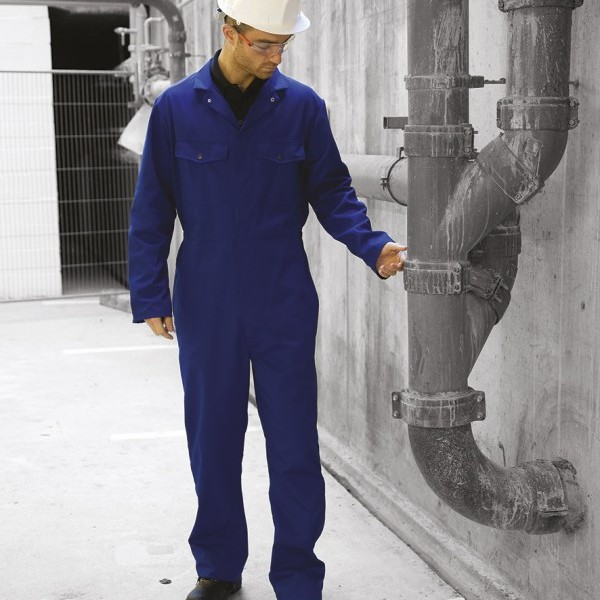 Warrior Stud Front Coverall,Positive Branding