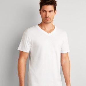 Gildan Platimun Underwear V Neck T-Shirt,Positive Branding