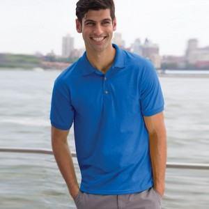 Gildan DryBlend® Jersey Polo Shirt, personalised polo shirt