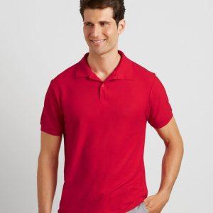 Gildan DryBlend Double Pique Polo Shirt, personalised polo shirt