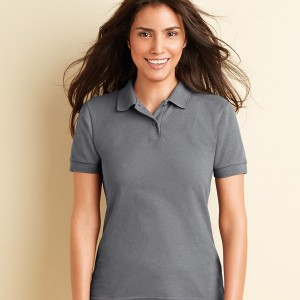 Gildan Ladies DryBlend® Poly/Cotton Pique Polo Shirt,Positive Branding