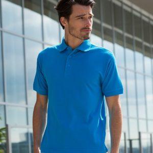 Henbury Heavy Poly/Cotton Pique Polo Shirt,Positive Branding