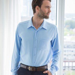 Henbury Long Sleeve Anti-bac Wicking Shirt,custom workwear