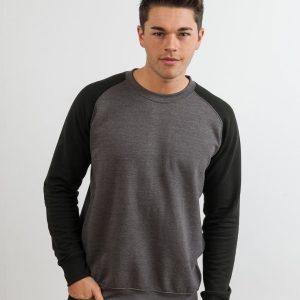 AWDis Baseball Sweatshirt,custom workwear