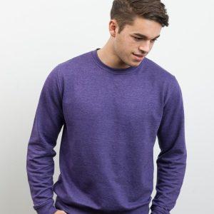 AWDis Heather Sweatshirt,custom workwear,Positive Branding