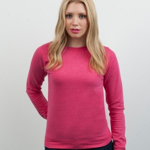AWDis Girlie Heather Sweatshirt,Positive Branding