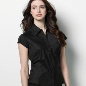 Kustom Kit Bargear® Ladies Cap Sleeve Shirt