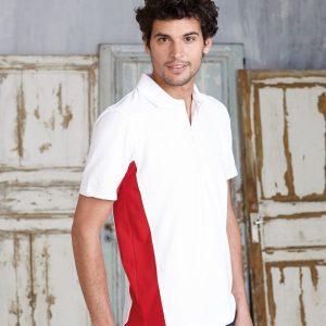 Kariban Flag Poly/Cotton Pique Polo Shirt,Positive Branding