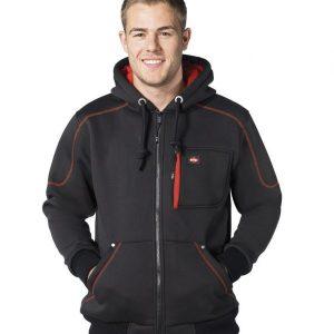 Lee Cooper Zip Hooded Workwear Jacket,Positive Branding