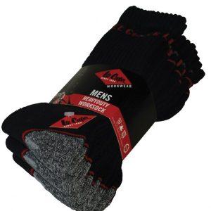 Lee Cooper Heavy Duty Work Socks,Positive Branding