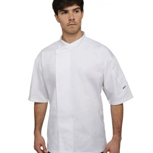 Le Chef Short Sleeve Academy Tunic,branded staff uniforms in London