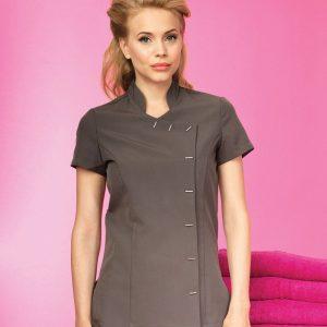 Premier Ladies Orchid Short Sleeve Tunic,Positive Branding