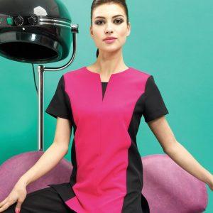 Premier Ladies Peony Short Sleeve Tunic,Positive Branding