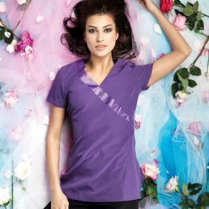 Premier Ladies Rose Short Sleeve Tunic,Positive Branding
