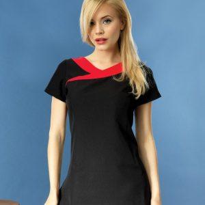 Premier Ladies Ivy Short Sleeve Tunic,Positive Branding