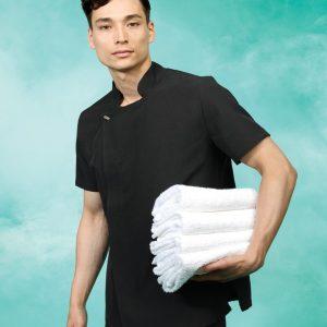 Premier Mens Epson Short Sleeve Tunic,Positive Branding