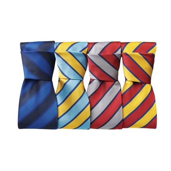 Premier Wide Stripe Tie,Positive Branding