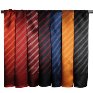 Premier Four Stripe Scarf,Positive Branding
