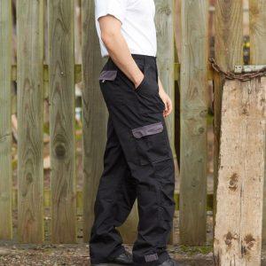 Portwest Texo Contrast Trousers,Positive Branding