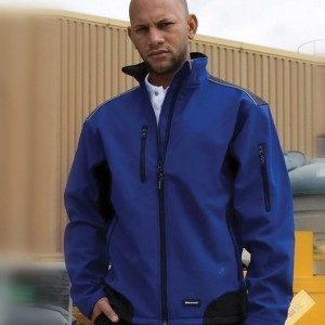 Result Ripstop Work-Guard Soft Shell Jacket,Embroidered jackets