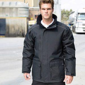Result Work-Guard Vostex Long Coat,Positive Branding