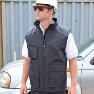 Result Work-Guard Vostex Bodywarmer,custom workwear