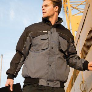 Result Work-Guard Zip Sleeve Heavy Duty Jacket,Positive Branding