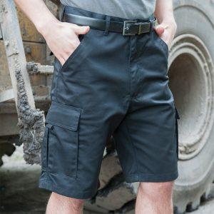RTY Poly/Cotton Cargo Shorts,Positive Branding