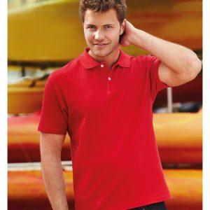 Fruit of the Loom Original Cotton Pique Polo Shirt,Positive Branding