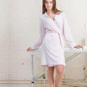 Towel City Ladies Cotton Wrap Robe,Positive Branding