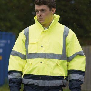 Dickies Hi-Vis Two Tone Pilot Jacket,custom corporate workwear