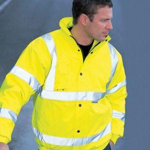 Dickies Hi-Vis Bomber Jacket,custom corporate workwear