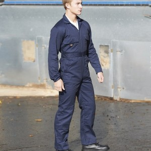 Dickies Redhawk Stud Front Coverall,Positive Branding
