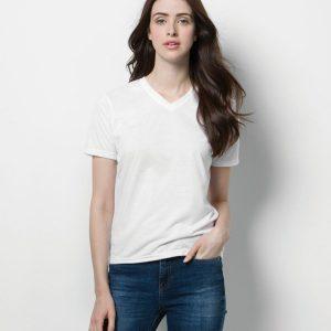 Xpres Ladies Subli Plus® V Neck T-Shirt,postive branding